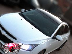 Покрытие автомобиля глянцевой плёнкой в автотехцентре Auto Styling - 6