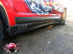 Покрытие автомобиля карбоновой плёнкой в автосервисе Autostyling - 2