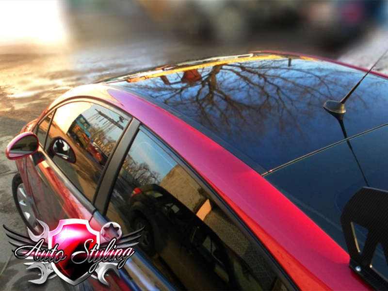 Покрытие автомобиля карбоновой плёнкой в автосервисе Autostyling - 5
